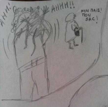 L'attaque de la mamie