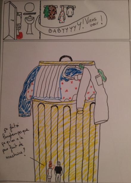 La vie quotidienne - La lessive