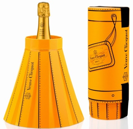 Veuve Clicquot packaging seau à champagne