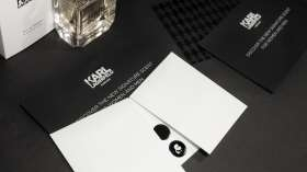 Cartons invitations KArl Lagerfeld